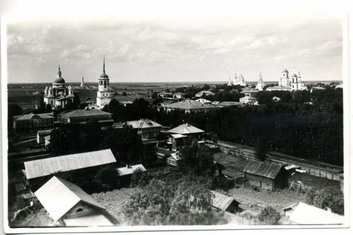 Тотьма. Начало XX века.