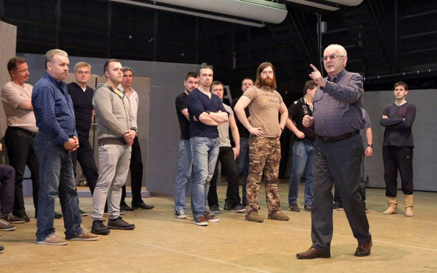 Репетиция оперы «Кармен» в Большом театре. Дамир Юсупов / Большой театр