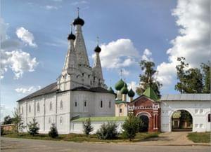 Алексеевский Угличский женский монастырь в Угличе Ярославской области