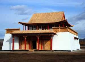 Монастырь Цогчен Устуу-Хурээ (Верхне-Чаданский монастырь) в Республике Тыва