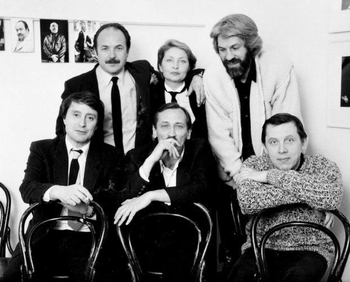 Вениамин Смехов в театре на Таганке