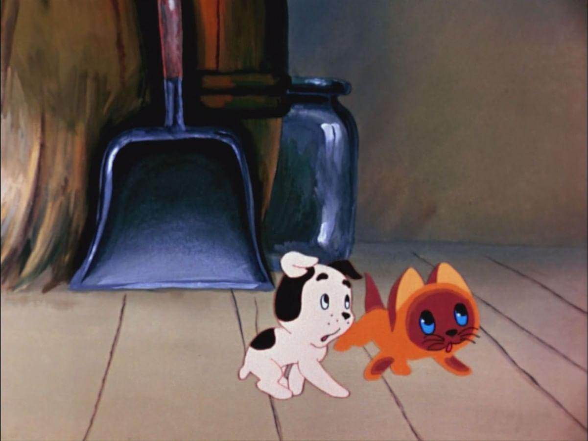 Картинки про котенка по имени гав, дню