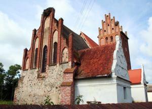 Кирха святой Анны (Мюльхаузенская кирха) в Калининградской обл.