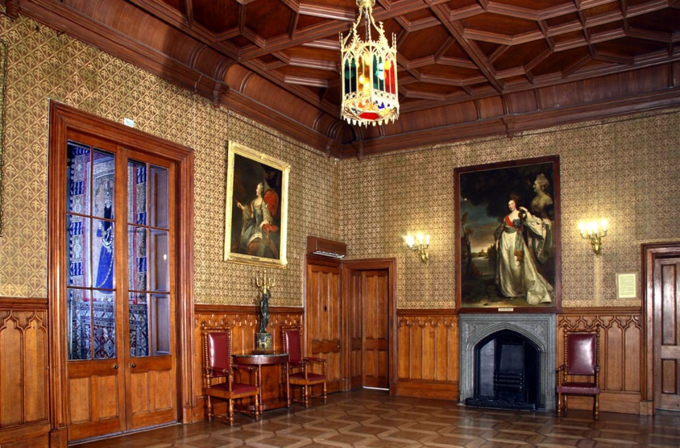 воронцовский дворец фото внутри замка то
