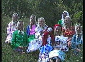 Певческая традиция деревни Манцурово Трубчевского района Брянской области