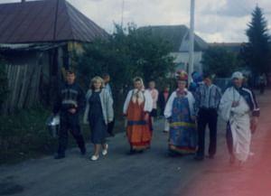 Свадебный обряд села Белица Беловского района Курской области