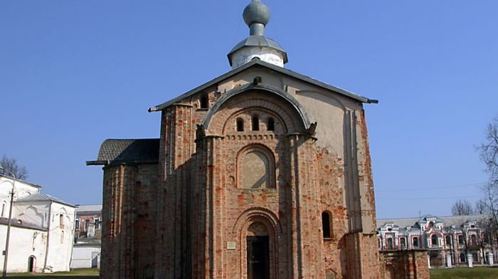 Храм Параскевы Пятницы на Торгу в Новгороде