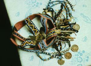 Шаманский обряд с посохом у нганасан