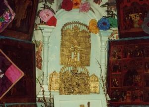 Рождественское богослужение в семейской старообрядческой общине села Бичура Республики Бурятия