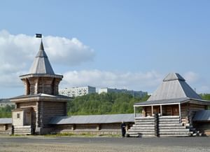Трифонов Печенгский мужской монастырь в поселке Луостари Мурманской области