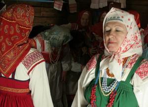 Женская пляска «Уточка» Нюксенского района Вологодской области