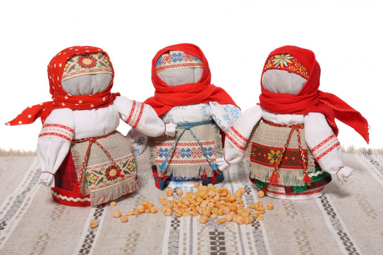 Куклы-обереги. Зерновушки