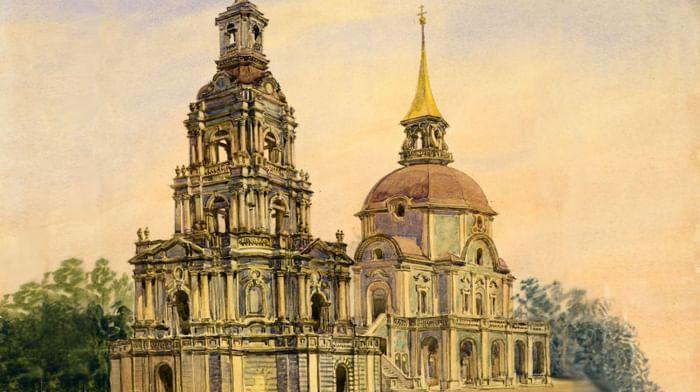 Церковь Петра и Павла в Новой Басманной слободе