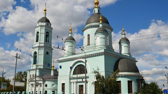 Церковь Сергия Радонежского в Москве