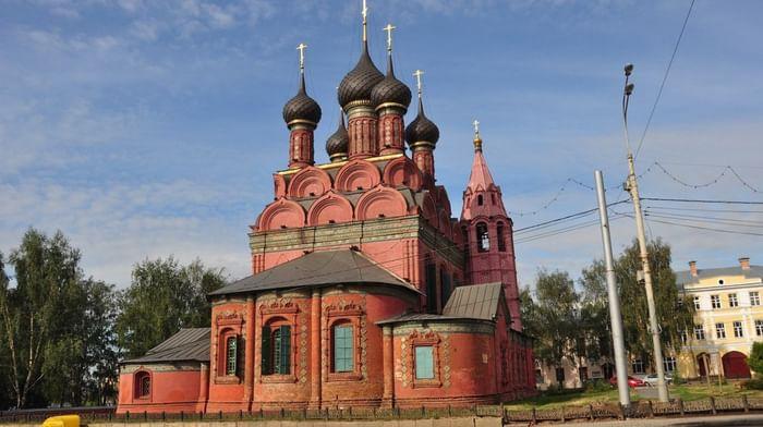 Храм Богоявления Господня в Ярославле