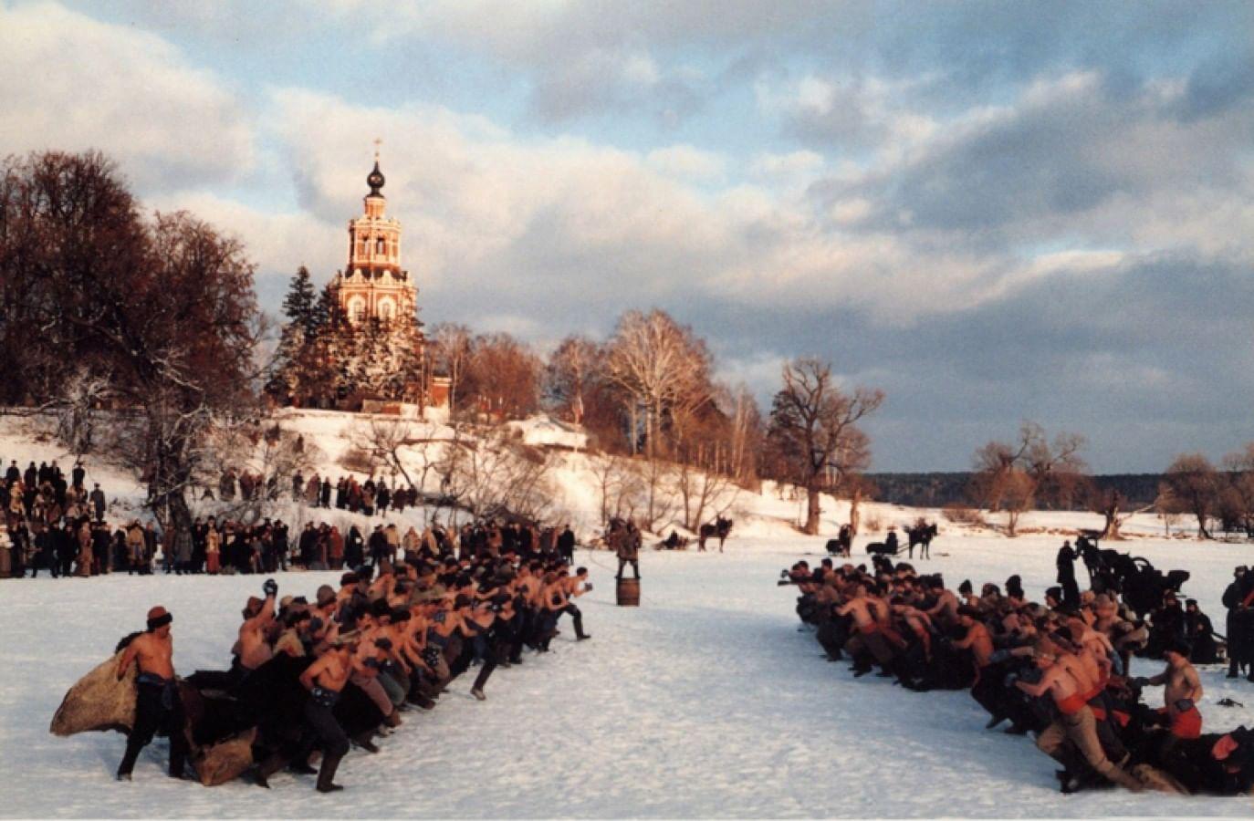 Фрагменты из фильма «Сибирский цирюльник»