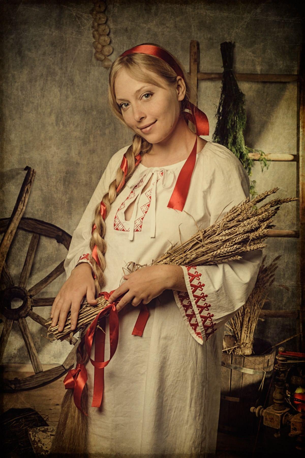 Символ девичьей красы. Плетение кос на Руси_2