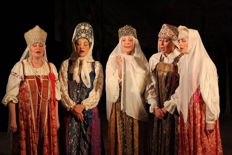 Спектакль «Народная мозаика»