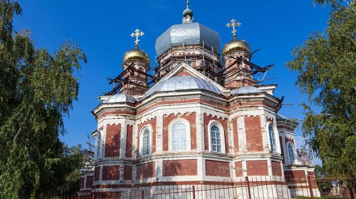 Храм Иконы Божией Матери Казанская в Петровске Саратовской области