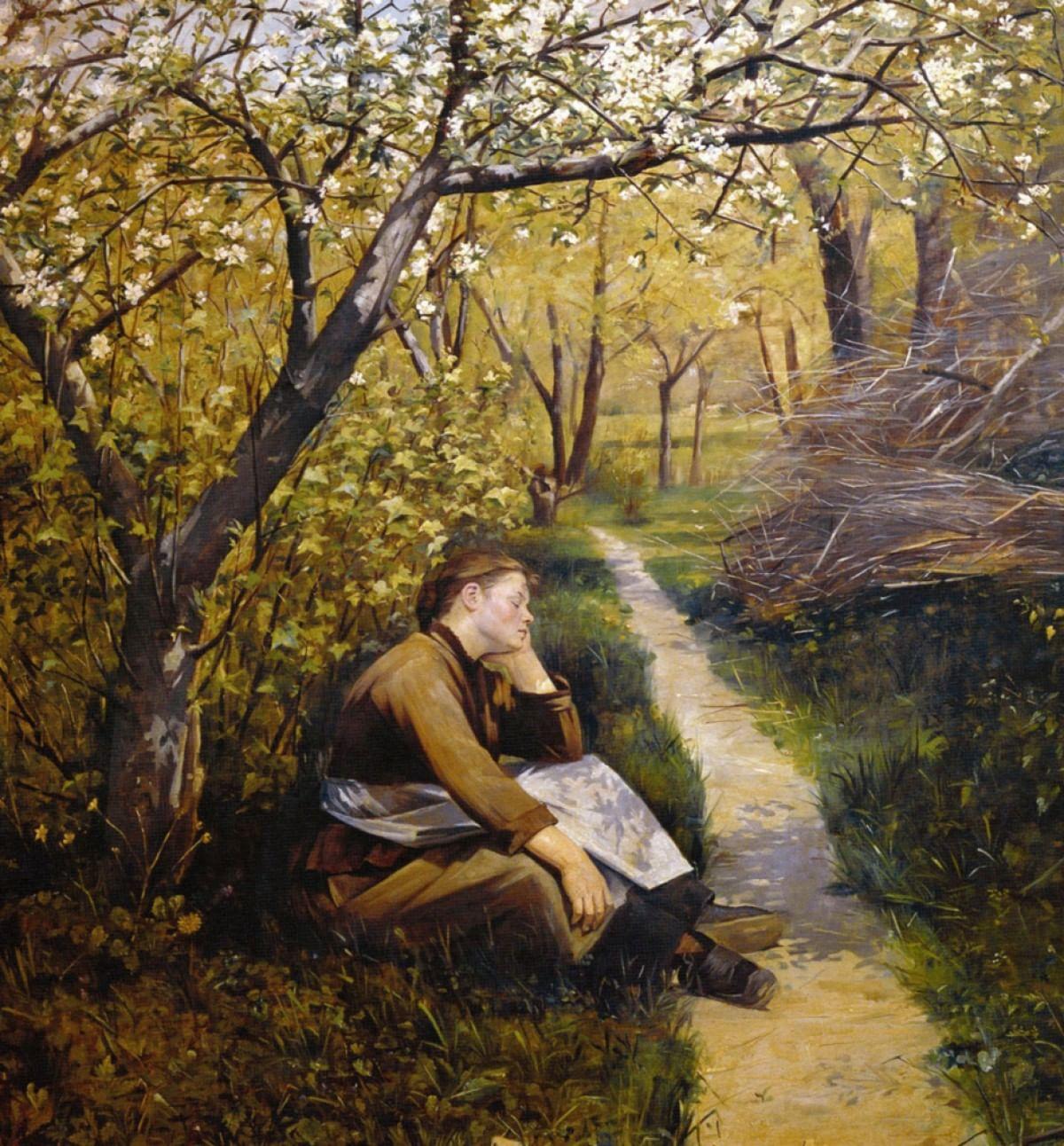 Мария Башкирцева. Картины