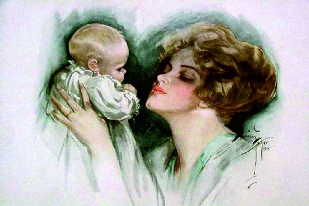 Открытки женщина-мать, подруги картинки