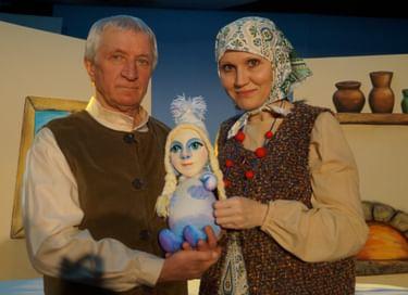 Спектакль «Про деда, про бабу и внучку Снегурочку»