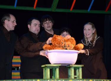 Спектакль «Весёлые медвежата»