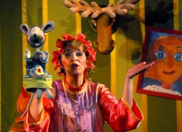 Спектакль «Сказка о глупом мышонке»
