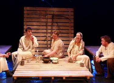 Спектакль «Саня, Ваня, с ними Римас»