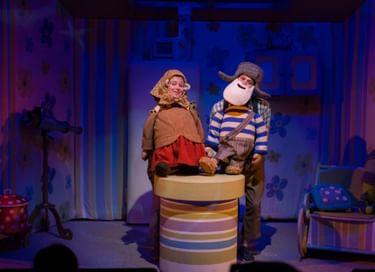 Спектакль «Колобок, или В гости к бабушке»
