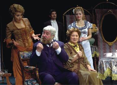 Спектакль «Медовый месяц Белугина»