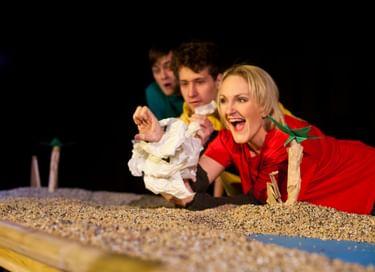 Спектакль «Что случилось с крокодилом»