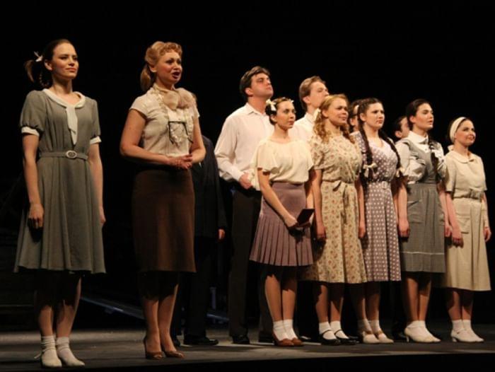Спектакль «Молодая гвардия»