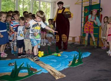 Спектакль-игра «Ловушка для слонопотама»