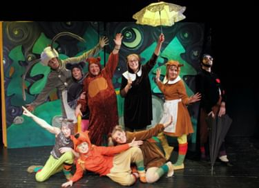 Спектакль «Приключения в лесу Ёлки-на-горке»