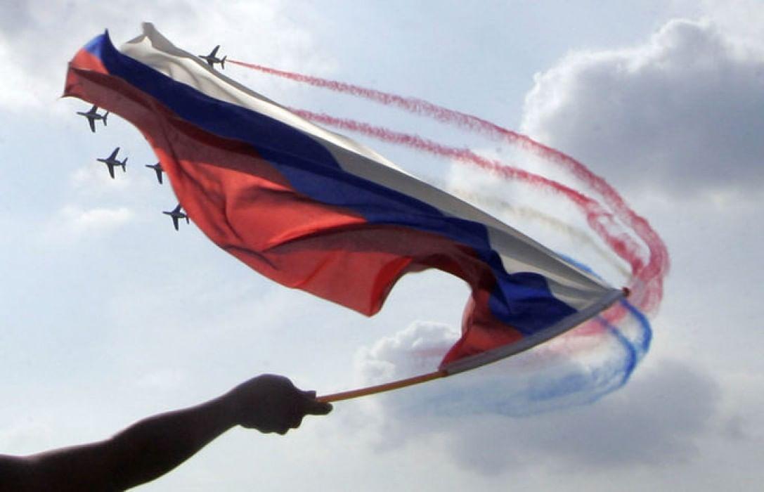 мужике, члене необычные фото с флагом россии обожаю