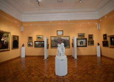 Экспозиция «Отечественное искусство»