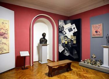 Экспозиция Дома-музея Велимира Хлебникова