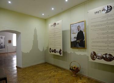Экспозиция Дома-музея Б. М. Кустодиева