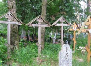Традиция оформления надгробий в Селивановском районе Владимирской области