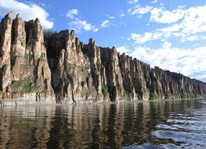 Скалы Ленские столбы в Республике Саха (Якутия)
