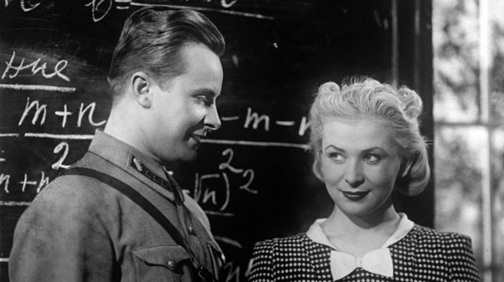 Валентина Серова и Евгений Самойлов в фильме «Сердца четырех» (1941)