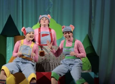 Спектакль «Раз, два, три – пятачки!»