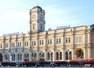 Московский вокзал в Петербурге