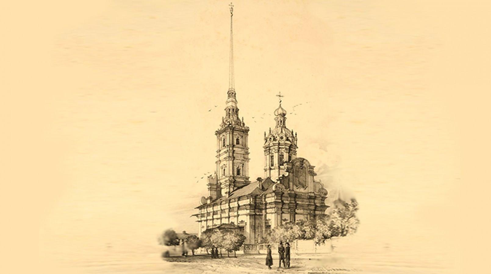 иллюстративные картинки петровского барокко исчезли страниц