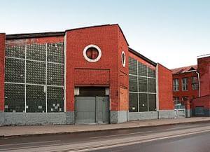 Гараж для грузовых автомашин (Ново-Рязанская ул., 27)