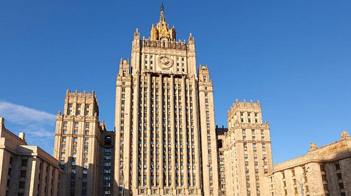 Высотный дом на Смоленской площади (здание МИД)