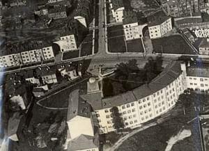 Школа 10-летия Октября в Ленинграде на проспекте Стачек,5/ул. Гладкова, 2