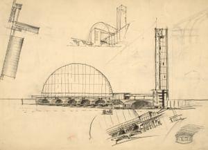 Дипломный проект Центрального вокзала