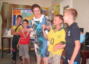 Детская библиотека «Калинушка»